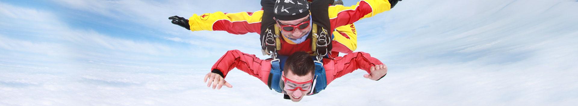 parachute springen vliegtuig