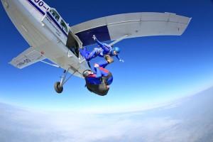 Aff opleiding parachutespringen