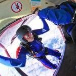 Klaar voor de eerste solo parachutesprong